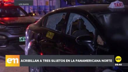 Un sicario mató a balazos a dos personas en plena Panamericana Norte