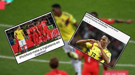 Colombia en las portadas del mundo tras eliminación ante Inglaterra