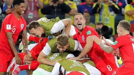 Inglaterra venció a Colombia en penales y avanzó a cuartos de final