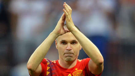 Andrés Iniesta y la carta del adiós a la Selección de España