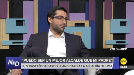 Luis Castañeda Pardo aseguró que sería un mejor alcalde que su padre