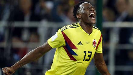 Yerry Mina le dio vida a Colombia ante Inglaterra con este gol en los descuentos