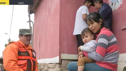 Familias de Ticlio Chico contarán con el apoyo de Defensa Civil para combatir las bajas temperaturas