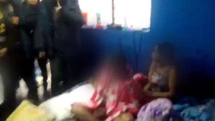Policía rescata a 15 mujeres víctimas de presunta de trata de personas en Lima
