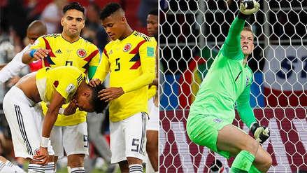 Los 5 datos claves para entender la eliminación de Colombia ante Inglaterra en Rusia 2018