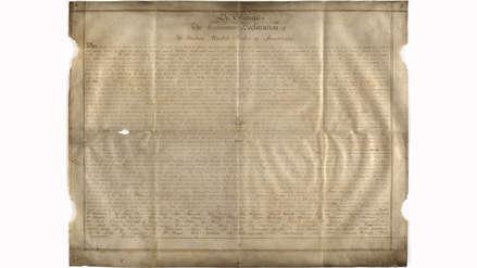 Hallada en Inglaterra valiosa copia de Declaración de independencia de EE.UU.