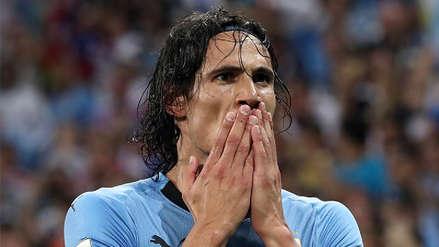 Edinson Cavani quedó descartado para el Uruguay vs. Francia