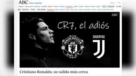 Así amanecieron los diarios en España ante la posible marcha de Cristiano Ronaldo a la Juventus
