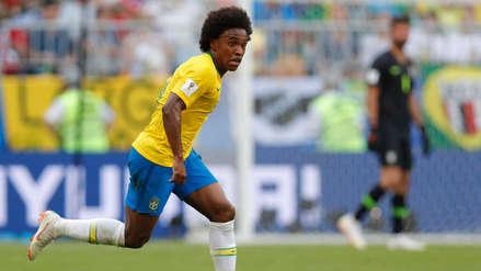 Brasil vs. Bélgica: Willian habló del momento que vive Eden Hazard en su selección