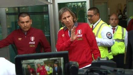 Ricardo Gareca viajó a Argentina agradeciendo el apoyo del hincha peruano
