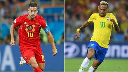 Brasil vs. Bélgica EN VIVO: horario, fecha y canal del partido por los cuartos de final