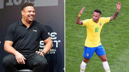 """Ronaldo: """"Si Brasil gana la Copa, Neymar acabará con el reinado de Messi y Cristiano"""""""