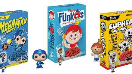 Se anuncia cereal oficial de Funko Pop
