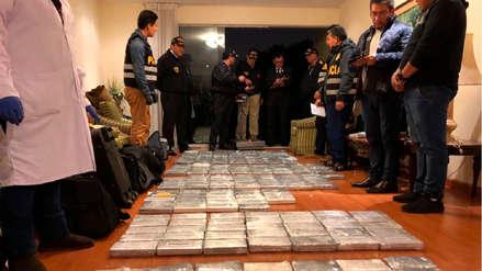 La Policía incauta más de 350 kilos de droga en un departamento de San Isidro