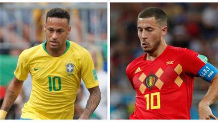 10 datos curiosos del Brasil vs. Bélgica en la historia de la Copa del Mundo
