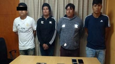 Capturan a menor de 16 años con banda de asaltantes en Virú
