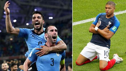 Cinco datos que calientan la previa del Uruguay vs Francia por Rusia 2018