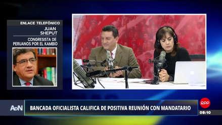 """Juan Sheput: """"La figura de César Villanueva no fue cuestionada en la reunión con el Ejecutivo"""""""
