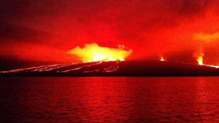 Un sismo de magnitud 5,4 se registró en volcán Sierra Negra en Galápagos