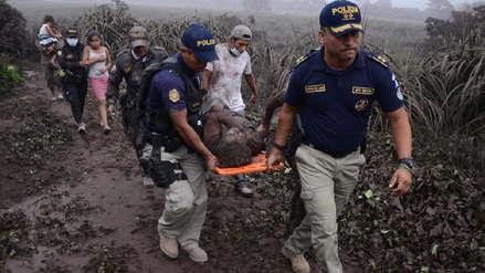 Hallan con vida a joven reportado desaparecido tras erupción de volcán en Guatemala