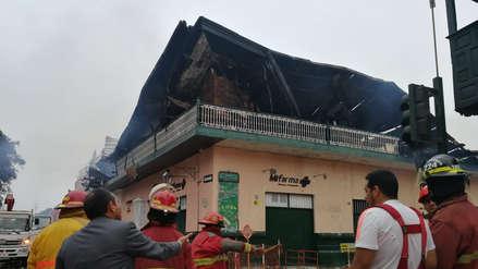 Trujillo perdió única casona de la época republicana con incendio