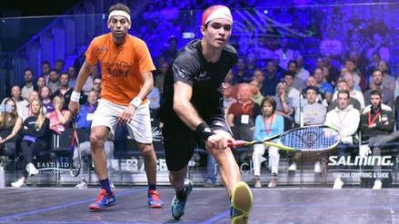 Diego Elías y Grégory Gaultier traen lo mejor del PSA World Tour de squash a Lima