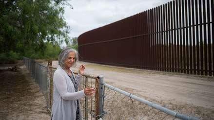 La mujer que tiene la llave del muro en la frontera entre Texas y México