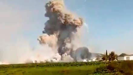 Así fue la explosión del taller de pirotécnicos que dejó 24 muertos en México