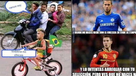 Brasil vs. Bélgica: los memes calientan la previa del partido