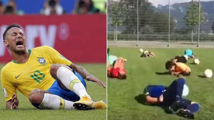 Niños protagonizaron divertido video en referencia a Neymar