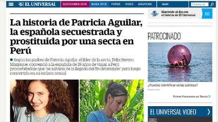 Así informaron en el mundo sobre el rescate de joven española captada por secta