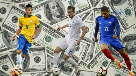 Francia es la selección más costosa de los cuartos de final de Rusia 2018