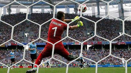 Uruguay vs. Francia: Griezmann aumenta el marcador tras grosero error de Muslera