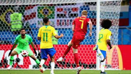 El magistral contragolpe de Bélgica que aumenta el marcador y pone contra las cuerdas a Brasil