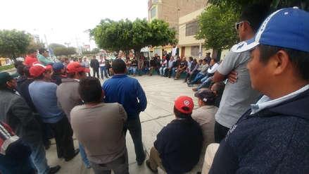 Mototaxistas suspenden protesta porque prefectura les denegó permiso