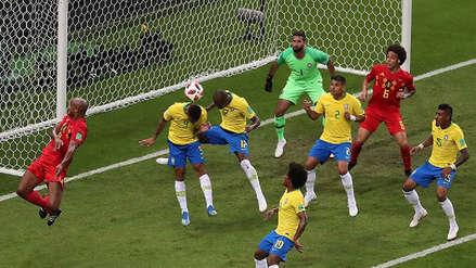 El gol en contra de Fernandinho para darle la ventaja a Bélgica