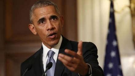 Obama criticó a Trump por el desinterés de su gobierno en ciencia y el cambio climático
