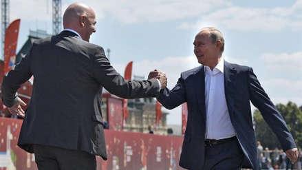 Putin dice que el Mundial ha roto muchos estereotipos sobre Rusia