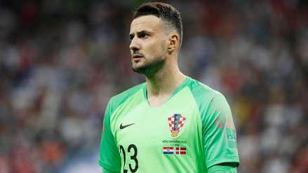 Arquero de Croacia recibe advertencia de la FIFA por su celebración ante Dinamarca