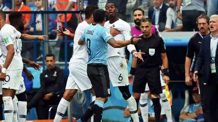 Un conato de bronca se generó entre uruguayos y franceses por un lujo de Kylian Mbappé