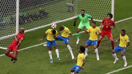 El blooper de Fernandinho que terminó en gol de Bélgica