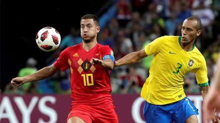 Joao Miranda después de caer con Bélgica: