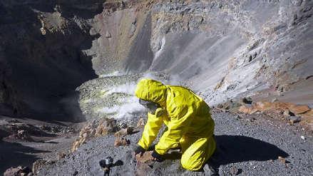 INGEMMET realiza un nuevo estudio del volcán Misti