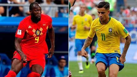 Brasil vs. Bélgica EN VIVO EN DIRECTO ONLINE: Canales, goles y minuto a minuto