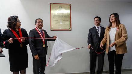Después de 6 años se inauguró nuevo edificio del Ministerio Público