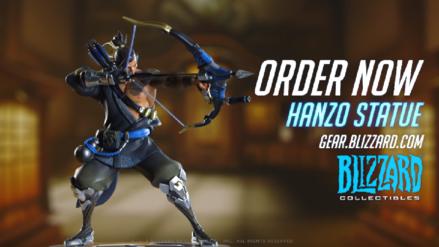 Overwatch nos muestra la nueva estatua de Hanzo