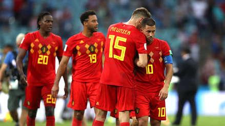 Bélgica perdió a un titular para el duelo ante Francia por semifinales