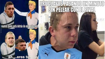 Uruguay no se salvó de los memes tras perder ante Francia en Rusia 2018