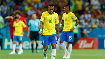 Brasil cayó 2-1 con Bélgica y se despidió de Rusia 2018