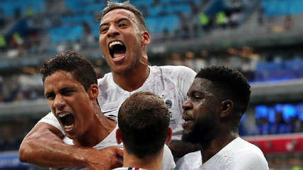 Uruguay 0-2 Francia: Resumen, jugadas y goles del partido por Rusia 2018